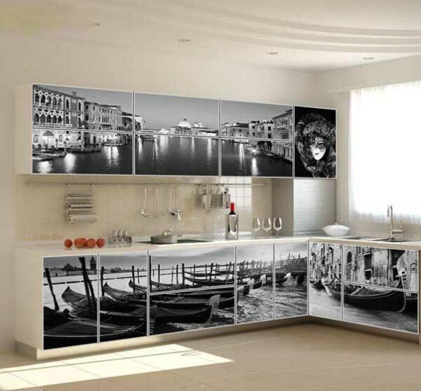 Кухня с фотопечатью «Ф2»