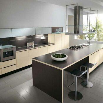 Островной гарнитур в кухонную зону «Лонг»