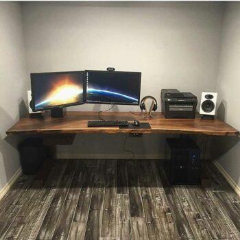 Компьютерный стол из массива «Бустен»