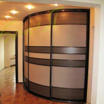 Радиусный шкаф-купе «Юнга»