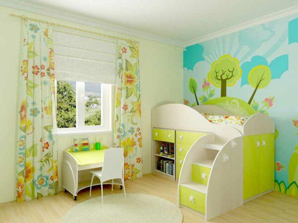 Детский спальный гарнитур «Грин»