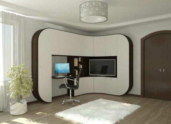 Угловая гостиная стенка «Кьери»