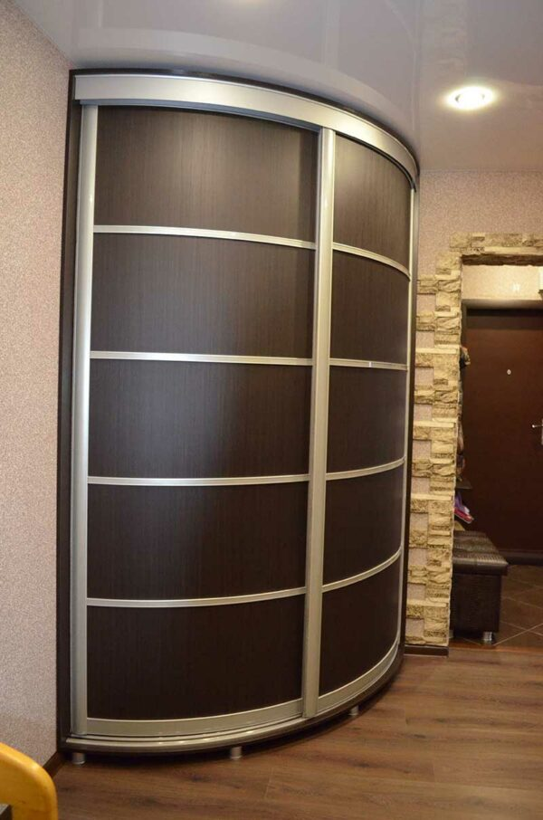 Радиусный шкаф-купе «Ричи»