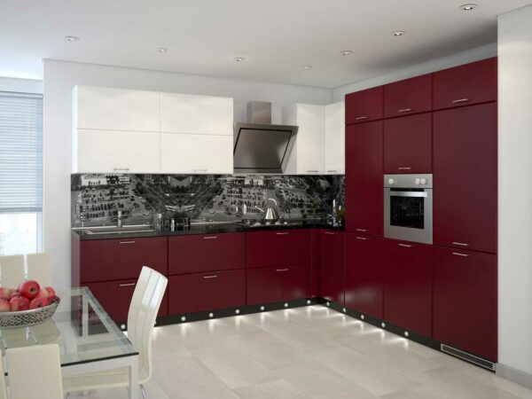 Кухня матовая эмаль «ЭМ1»