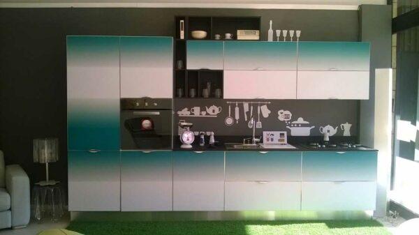 Кухня с градиентом «ГР2»