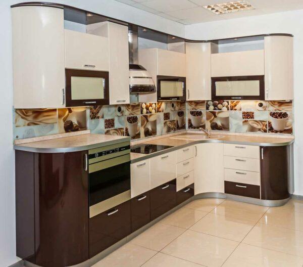 Глянцевая кухня «ГЛ1»