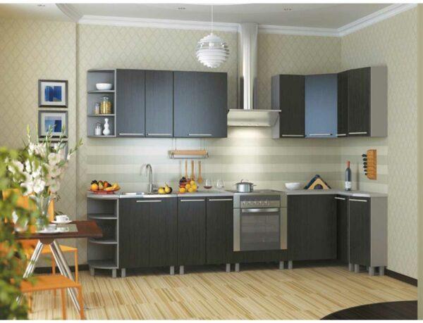 Кухня цвета Венге «ВГ2»