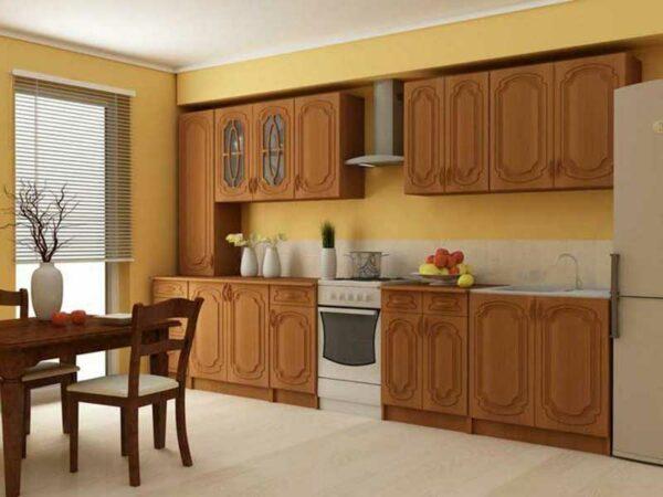 Линейный кухонный гарнитур «Классик»