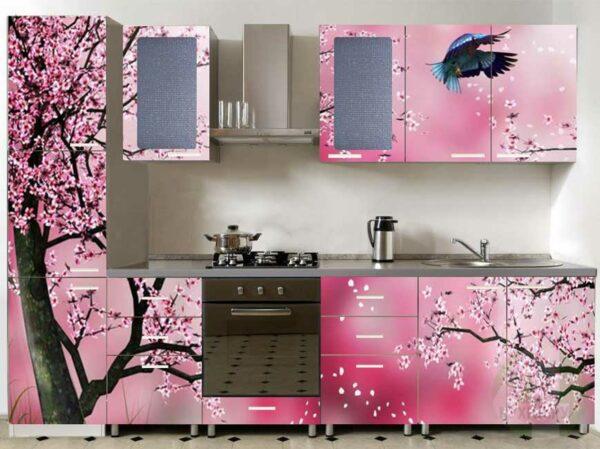 Кухня с красивым фасадом «Ф3»