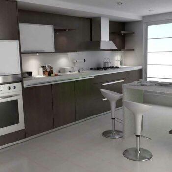 Темная кухня «ЕН4»