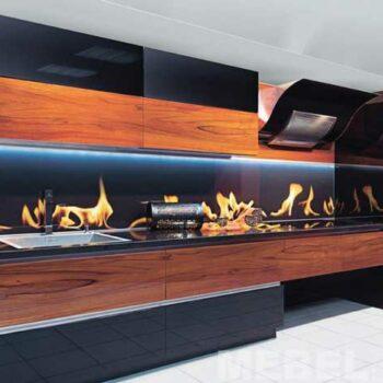 Кухня с рисунком «Ш6»