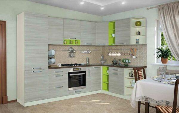 Угловая кухня «ЛП4»