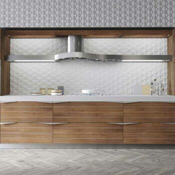 Кухня цвета дерева «ДЕ1»