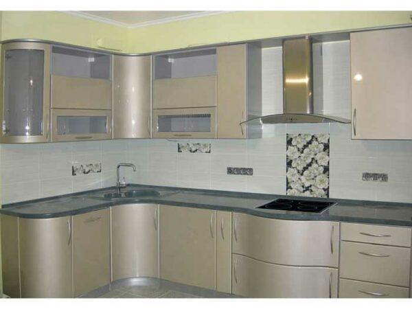 Угловая радиусная кухня «РУ5»