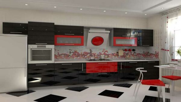 Hi-tech кухня «Х2»