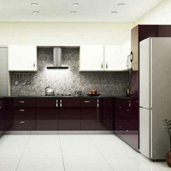 Большая П образная кухня «№34»