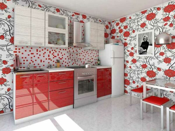 Прямая кухня «РН4»