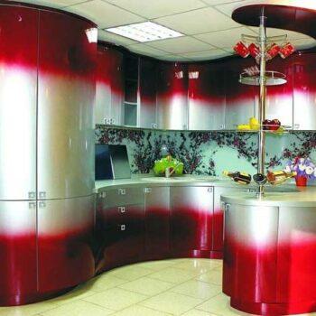 Радиусная кухня «ГР5»