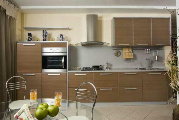 Коричневая кухня «РЕ1»