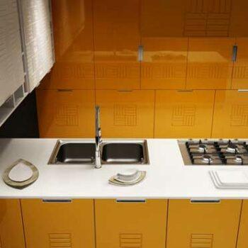3д кухня «Д4»