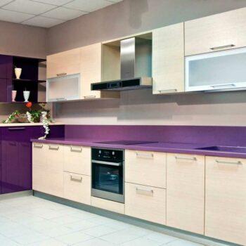 Угловая кухня модерн «Р4»