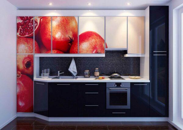 Кухня с рисунком «Ф7»