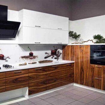 Угловой кухонный гарнитур «Тигр»