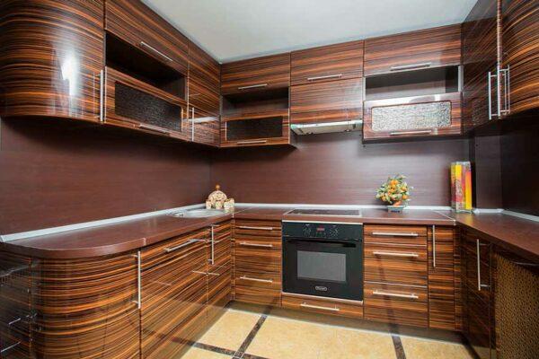 Кухня в пленке «ПК4»