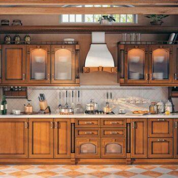 Кухня из массива дуба «МС3»