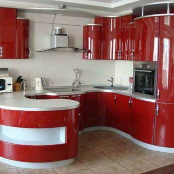 Радиусная кухня формы-П «№35»