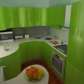 Мини угловая кухня «№13»
