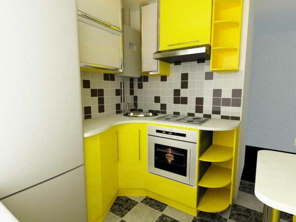 Микро угловая кухня «№14»