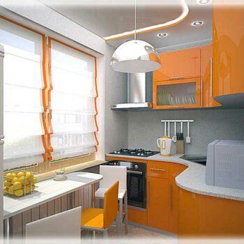 Малогабаритная кухня в угол «№15»