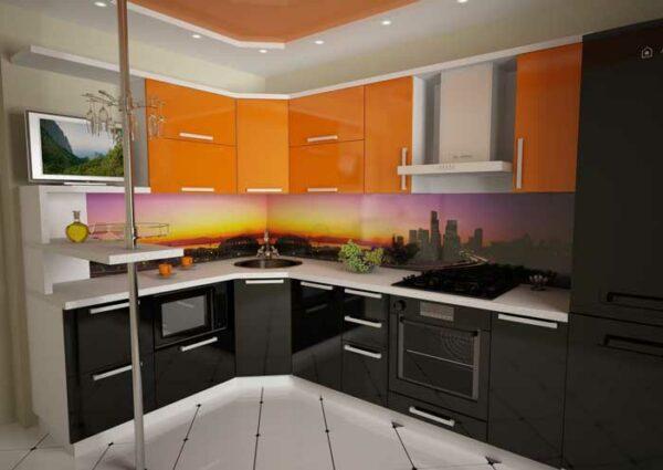 Угловая кухня «КТ6»
