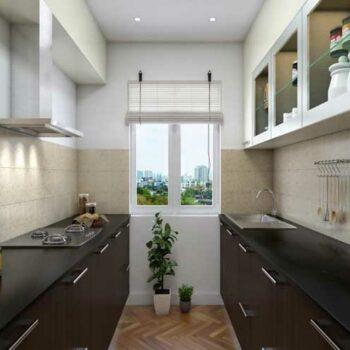 Кухня двухрядная «№44»
