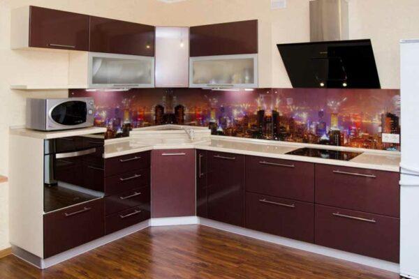 Угловая кухня «КУ6»