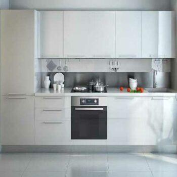 Белый кухонный гарнитур «БЛ4»