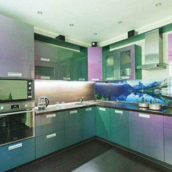 Угловая кухня хамелеон «МЛ4»