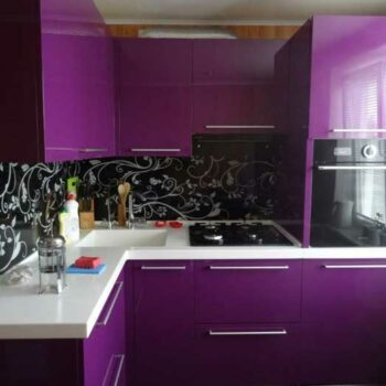 Кухня пурпурная «ПУ5»