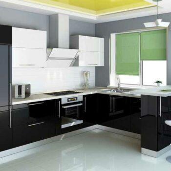Кухонный гарнитур с барной стойкой «КБ5»