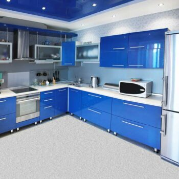 Кухонный гарнитур синего цвета «СГ5»