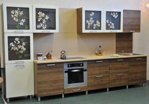 Прямая кухня «ВС4»