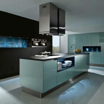 Кухня остров «Х4»