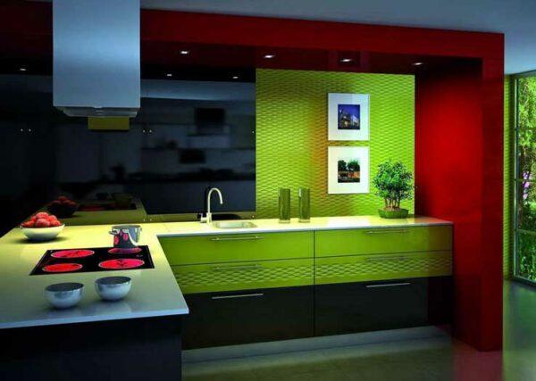 Кухня модерн стиля «Р6»