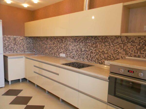 Кухня бежевого цвета «БЖ3»